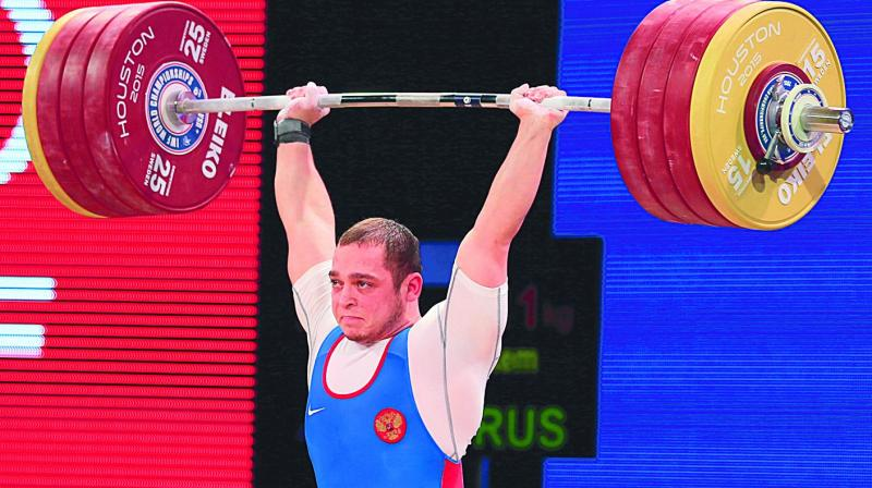 Weightlifting: Russians barred from Rio