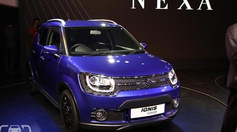 maruti ignis likely to get auto transmission. Black Bedroom Furniture Sets. Home Design Ideas