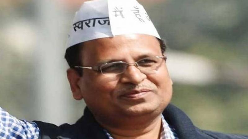 Health Minister Satyendar Jain. (Photo: PTI)