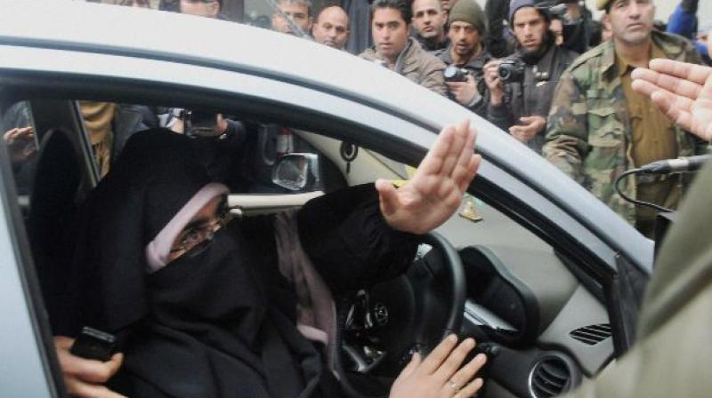Asiya Andrabi detained in Srinagar