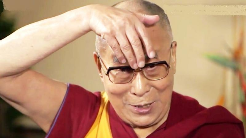 The Dalai Lama mocks Trump's 'small' mouth in hilarious impersonation