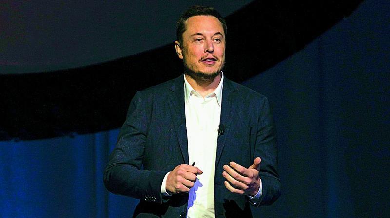SapceX CEO Elon Musk