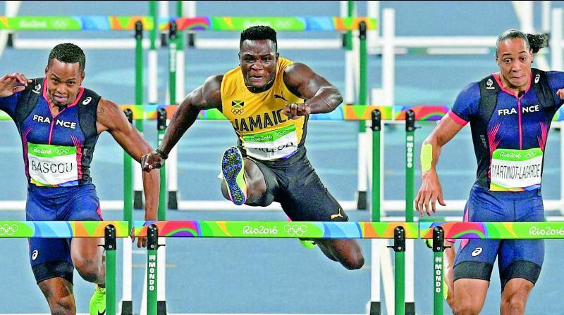 Olympics: Jamaican Omar McLeod wins 110m hurdles gold