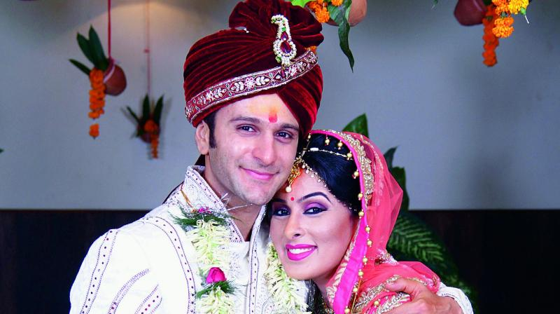 We fell in love without even meeting each other :   Karan Suchak and Nandita Suchak, Actors