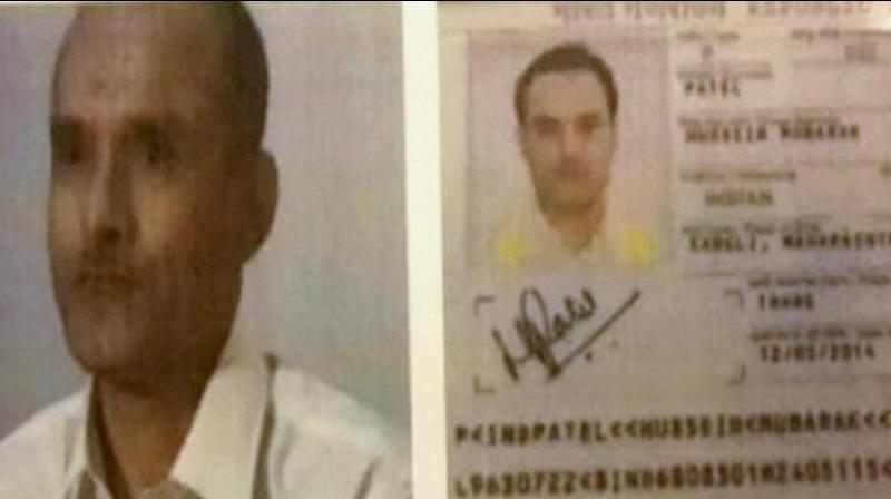 Alleged Indian spy Kulbhushan Jadhav. (Photo: Videograb)