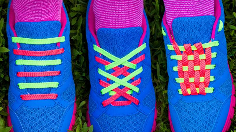 Different Ways To Lace Shoes With  Laces