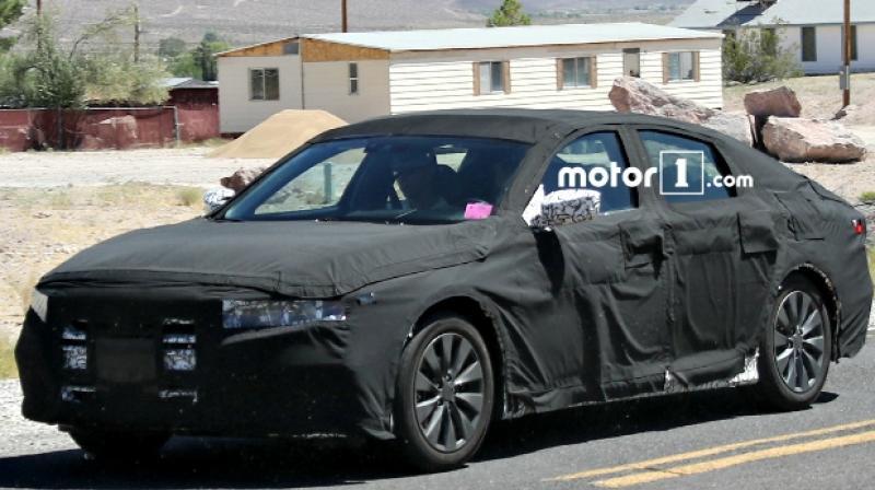 Honda's Next-Gen Accord Testing Begins