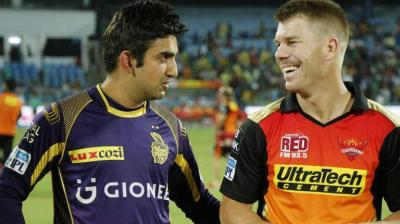 Kolkata Knight Riders and Sunrisers Hyderabad will meet for the third time in the tournament. (Photo: BCCI)