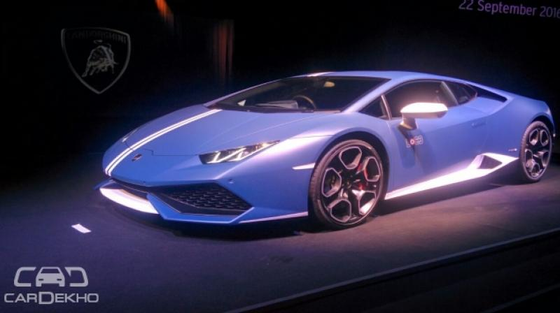 special edition lamborghini huracan avio launched. Black Bedroom Furniture Sets. Home Design Ideas