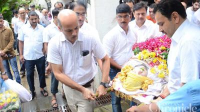 Rajshri CEO and MD Rajjat Barjatya leaves for his heavenly abode. (Pic: Viral Bhayani)