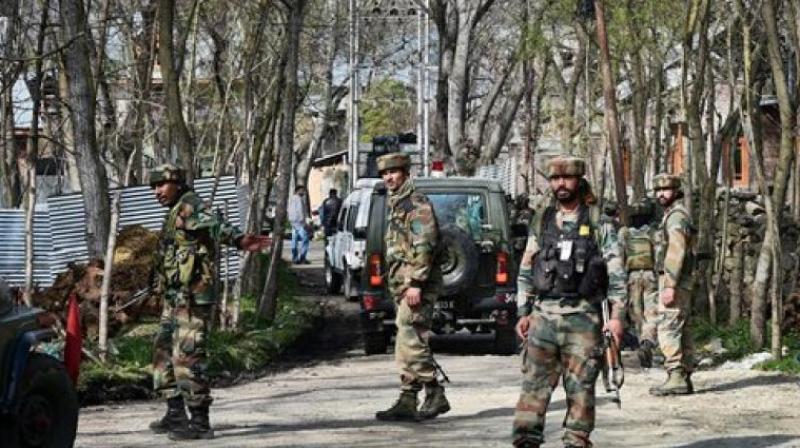 Four terrorists killed, 1 apprehended J&K`s Naugam, encounter on