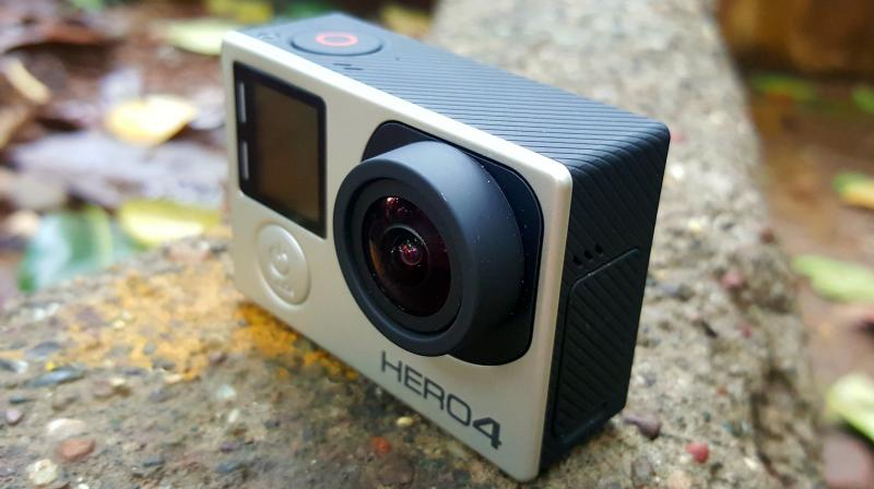 GoPro said it was now at full production and ramping up distribution of Hero 5, including on Amazon.com Inc.