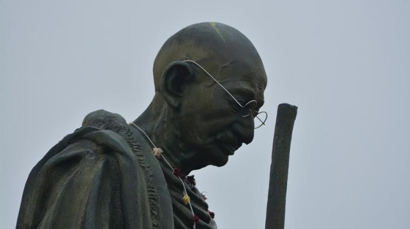 Ghana professors campaign for removal of new Gandhi statue