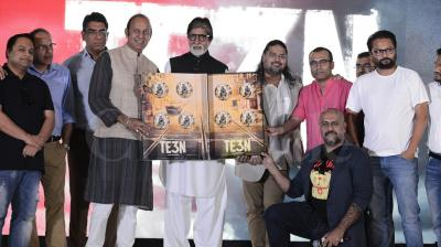 Megastar Amitabh Bachchan, who has sung a song in his upcoming film