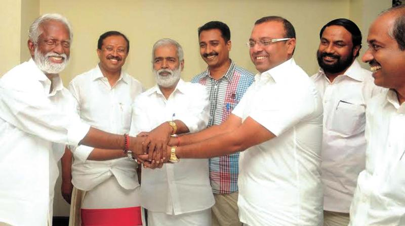 Bjp bdjs hold first round talks for V muraleedharan bjp