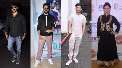 Our Bollywood stars turn up the heat with their commendable sense of style at different occasions (Pic: Viral Bhayani)