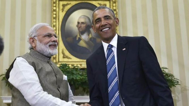 Prime Minister Narendra Modi with US President Barack Obama (Photo: AP/File)