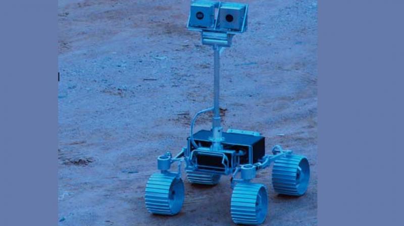 Codename ECA: TeamIndus' proposed lunar rover