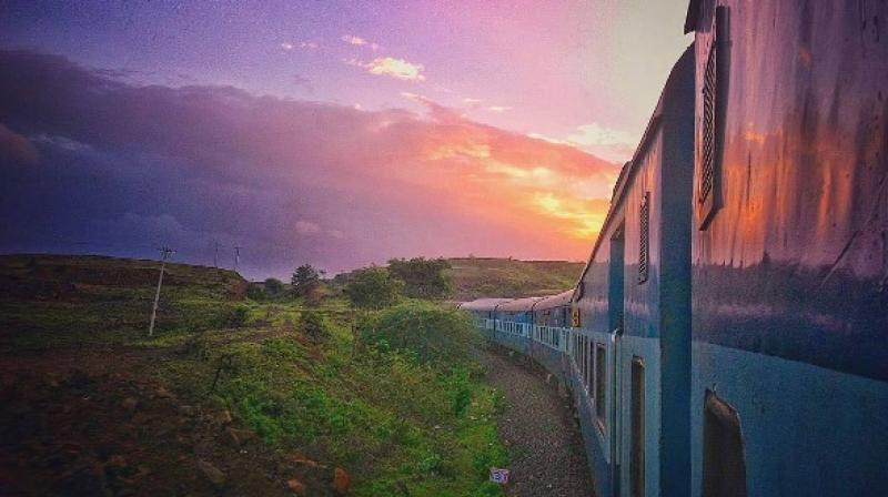 Many people would agree that travelling by train retains a certain old-world charm. Film maker Shanu Babar was inspired to create an Instagram account that portrays the unique sights one comes across when on a train journey. (Photo: Instagram/ @windowseatproject)