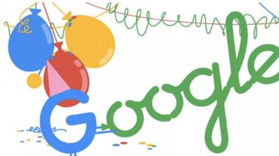 Google celebrates 18th birthday with special doodle