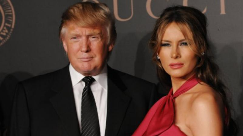 world report melania trump rags riches story donald wife