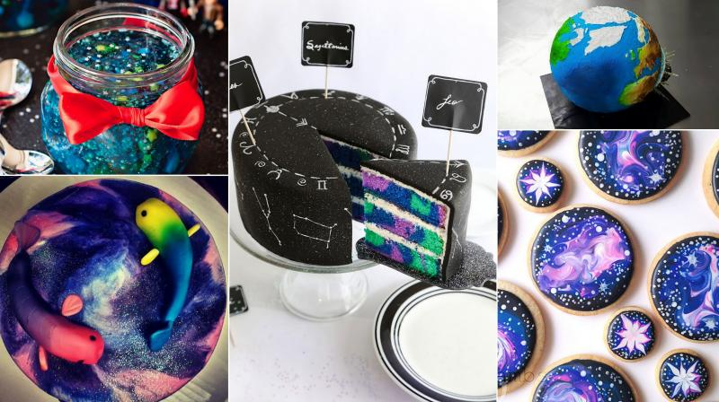 We have complied a list of space-themed desserts collection and they are simply out of this world.