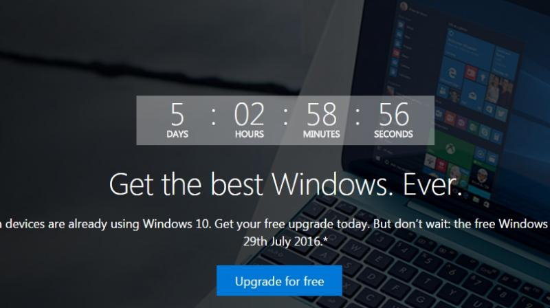 Windows users faced with choice as deadline nears