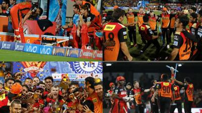 While Virat Kohli-led Royal Challengers Bangalore were favourites to win the IPL final, David Warner's Sunrisers Hyderabad retained composure to clinch their maiden IPL title. (Photo: AFP / BCCI/ PTI)