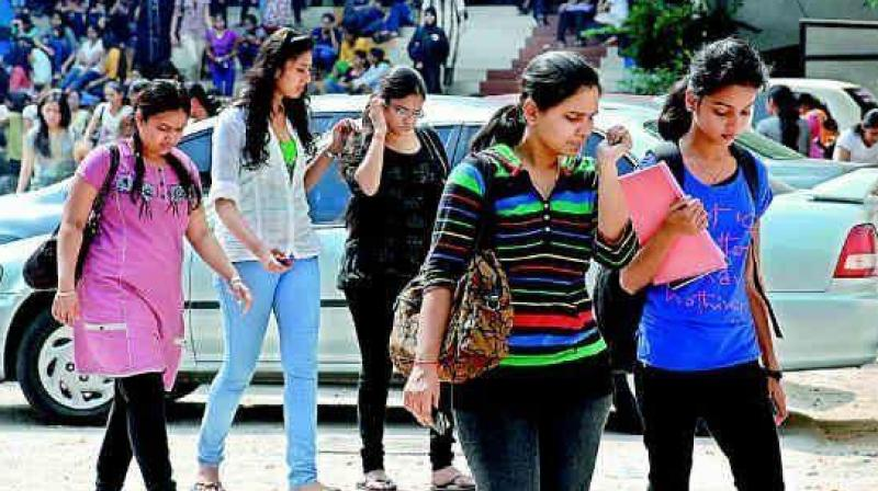 "Lecturer and medical entrance trainer in Kakatiya Group of Institutions, Mr Anil Kumar said, ""Students have been preparing for Eamcet for last two years. Suddenly, if they are asked to apply and appear for Neet within three months, how can they do it."" (Representational image)"