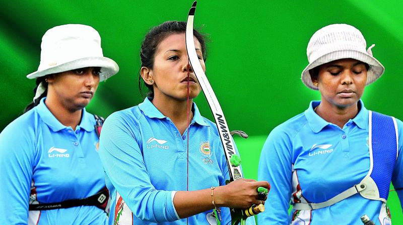 Woman archer Laxmirani out of individual event at Rio