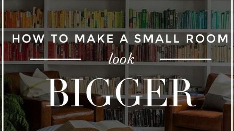 7 ways to make a small space look bigger