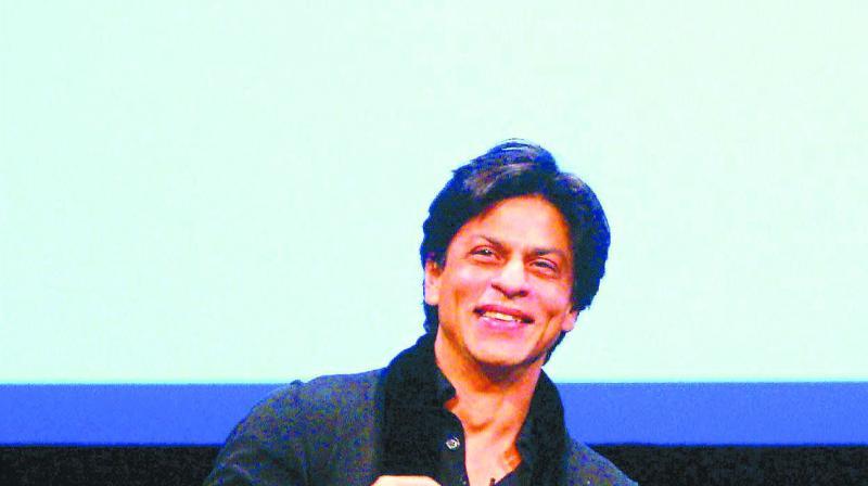 SRK is suffering from a broken patella (kneecap).