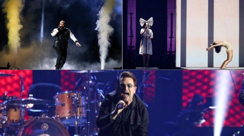 The iHeartradio Music Festival was first held in 2011 at the MGM Grand Arena in Paradise, Nevada (Photo: AP)