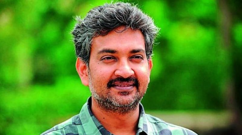 While Vijayendra Prasad is writing and directing Mera Bharat Mahaan, his son, S.S. Rajamouli, is not connected with the project.