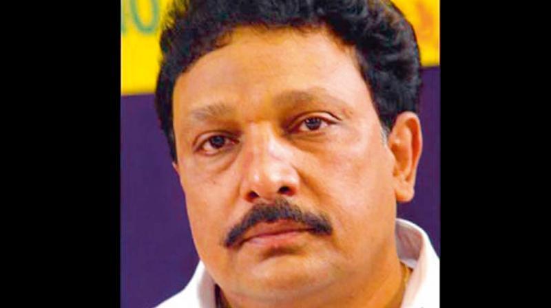 Congress leader Krishnappa inducted in Karnataka ministry