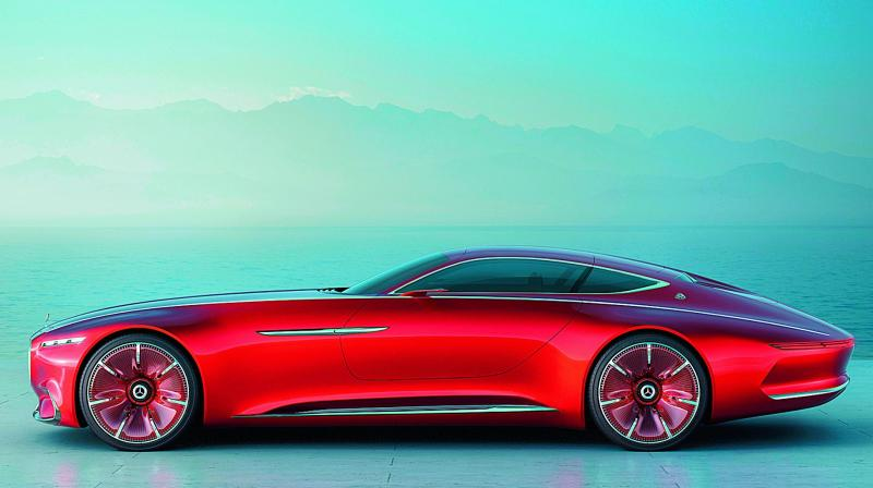 mercedes unveiled its vision for the future photo via web
