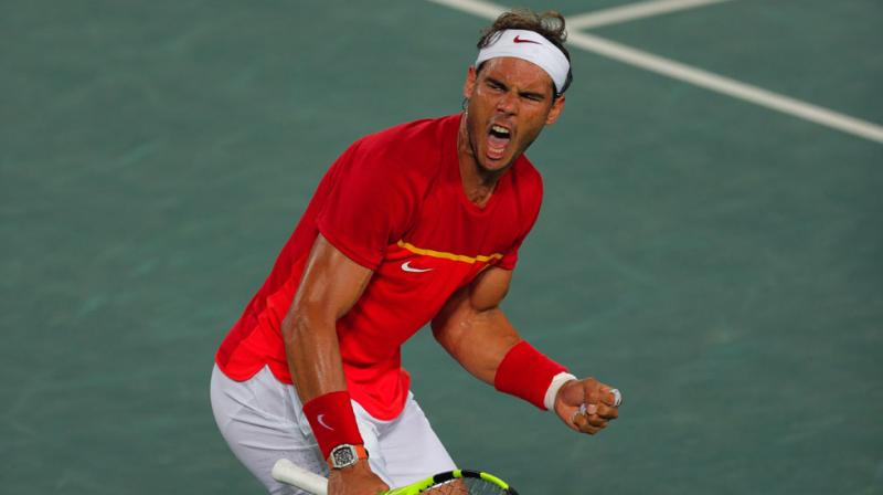 US Open: Nadal completes straight-sets win in opener