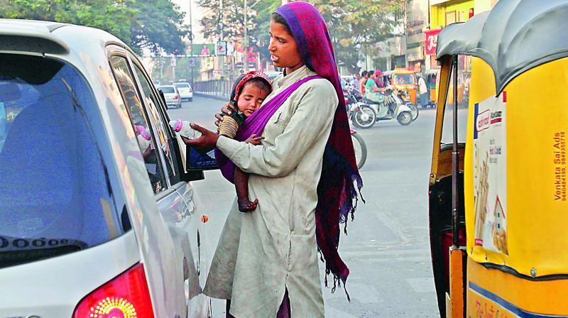 Image result for Begging banned in Hyderabad
