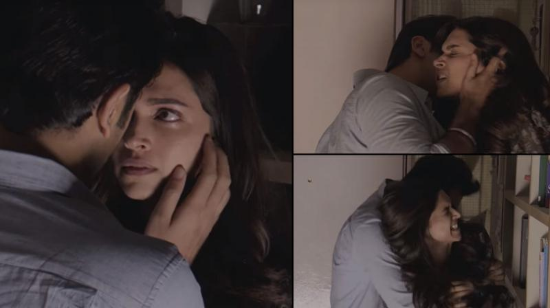 The deleted clip has Ranbir Kapoor's character Ved forcing himself on Deepika Padukone's character ...