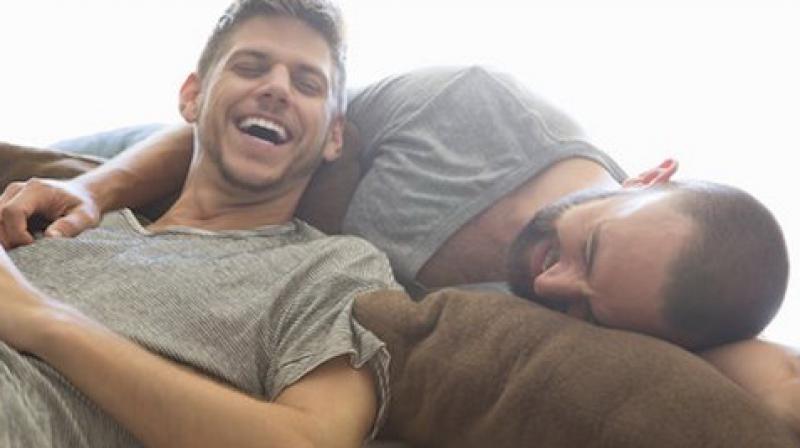 Gays get jacked off