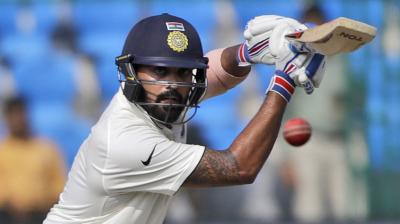 Much like the first innings though, Cheteshwar Pujara put up an unbeaten 107-run partnership with Vijay, to give India a 215-run lead. (Photo: AP)