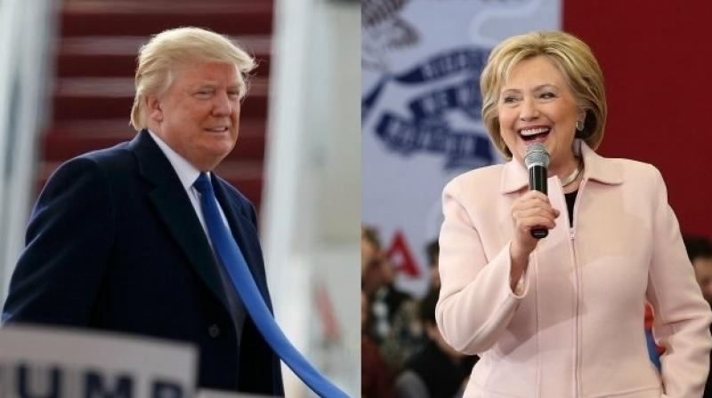 Trump ends difficult week by focusing on Hillary Clinton