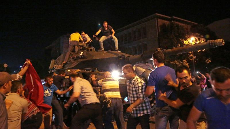 Killed, 2839 arested in failed Turkey coup bid