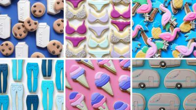 After steaming lattes, biscuits are the next big thing on Instagram. Graphic designer Holly Fox makes use of her eye for design and perfect icing skills to come up with biscuits that make for a visual treat. (Photo: Instagram)