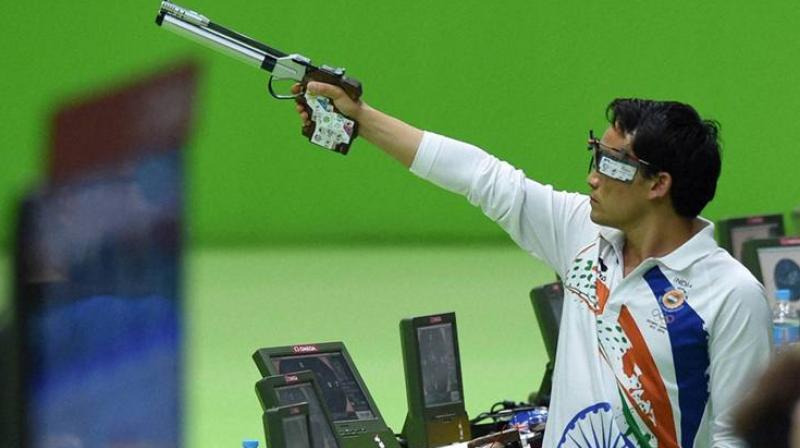 Jitu Rai shoots silver