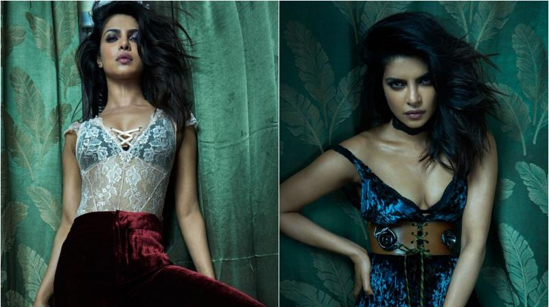 International sensation, Priyanka Chopra did a photo shoot recently. In the pictures, the actress looks breathtakingly gorgeous. The shoot was for a magazine.