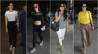 On Monday, our shutterbugs spotted Bollywood celebrities such as Kangana Ranaut, Neha Dhupia, Akshay Kumar and others at the Mumbai airport. (Photo: Viral Bhayani)