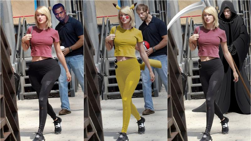 Trolled Guy Caught Staring At Taylor Swift Internet