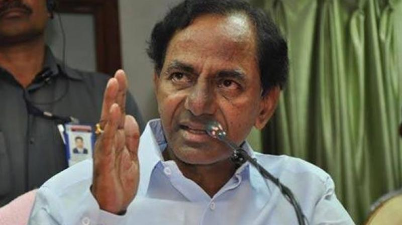 KCR takes stock of flood situation; irrigation projects in spate