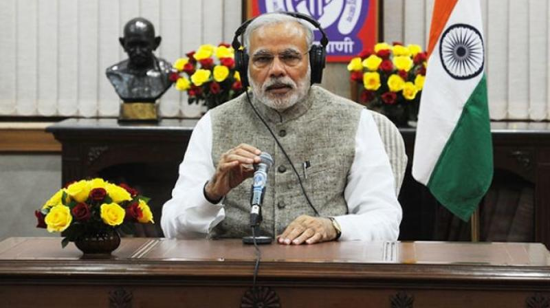 Prime Minister Narendra Modi shares his thoughts on his radio address 'Mann Ki Baat' once every month. (Photo: PTI)